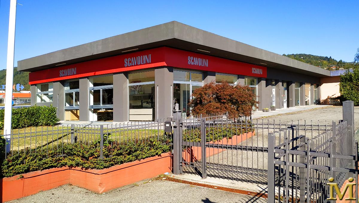 EDIFICIO COMMERCIALE 500MQ Piano Terra + 500 MQ Piano Seminterrato (4 UNITA') PINEROLO TO